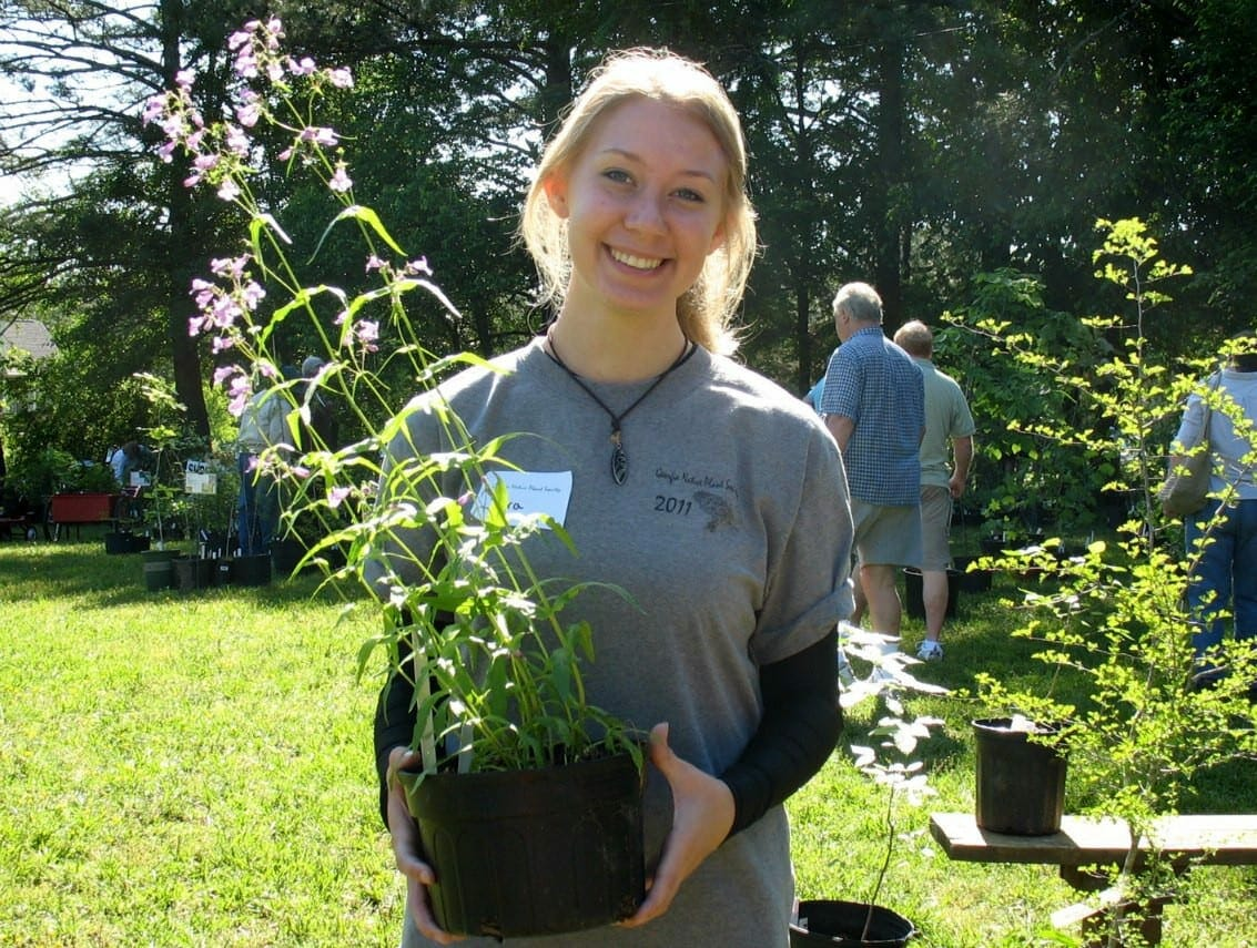 Plant sale 2011 volunteer