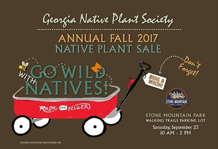 2017 Fall Native Plant Sale September 23rd 2017 at Stone Mountain Park